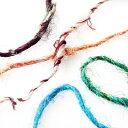 【アウトレットセール(3)】シルク 100% 手芸用 編み紐巻き板付 (50cm単位)