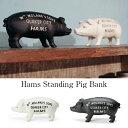 Hams Standing Pig Bank/...