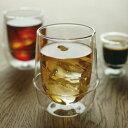 KRONOSダブルウォールティーカップ【グラス kinto ダブルウォール アイスティー カフェ 耐熱グラス ガラス ティーカップ コーヒー ワイングラス シャンパングラス 】
