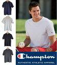 【レビューで、メール便送料無料。】CHAMPION チャンピオン メンズ 無地 半袖 tシャツ