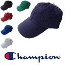 CHAMPION チャンピオン キャップ 帽子 フリーサイズ 無地 メンズ レディース カーブキャップ