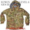 日本人サイズ 米軍 実物 放出品 アメリカ軍GORE-TEX PARKAUS Gen III Level 6 ECWCS Scorpion Parkasゴアテックス パーカー ジャケット EXTREME COLD/WET WEATHER