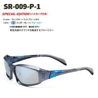 【STORMRIDER/ストームライダー】SR-009-PスポーツカーブタイプIIデンターグレー×ブルーミラーSR-009-P-1000335ハイカーブ仕様偏光サングラス偏光レンズミラーレンズサングラス