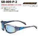 【STORMRIDER/ストームライダー】SR-009-P スポーツカーブタイプII オリーブグリーン×ブルーミラー SR-009-P-2 000342 ハイカーブ仕様 偏光サングラス 偏光レンズ ミラーレンズ サングラス