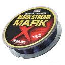 【SUNLINE/サンライン】ブラックストリームマークX 200m ブラッキー&ファインピンク ライン 道糸 ナイロン 磯釣り 海釣り