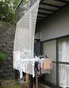 雨よけシート 洗濯物 雨 カバー ベランダ 雨対策 虫除け 雨除け 日よけ ビニールシート 防水 厚手 屋外 庭 風よけ ガード UV 自転車 ひさし 軒 透明 180×360