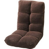 リクライニングチェア 座椅子 ブラウン 茶色 【 低反発 座いす チェア チェアー 1人掛け ソファー ソファ 座イス リクライニング 送料無料 ポイント】