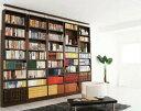 本棚 書棚 大容量 可動棚 壁面...