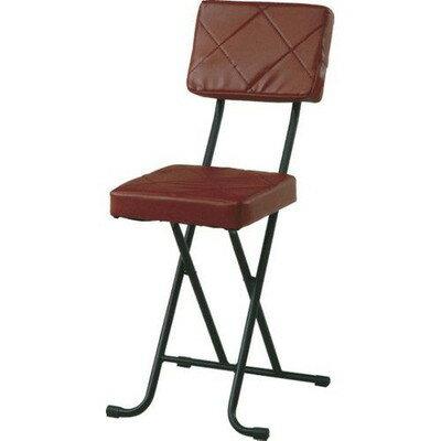 折りたたみ椅子 フォールディング パイプチェア ブラウン 茶色 【椅子 チェア イス いす 座椅子 フロアチェア パソコンチェア オフィスチェア キャスター付き椅子 ハイバック ダイニングチェア デザイナーズチェア リクライニングチェア 送料無料 ポイント】