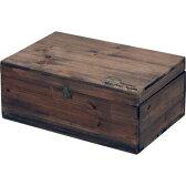 小物入れ 木製 収納ボックス ふた付き ダークブラウン 茶色 【リモコンケース 小物入れ 送料無料 ポイント】
