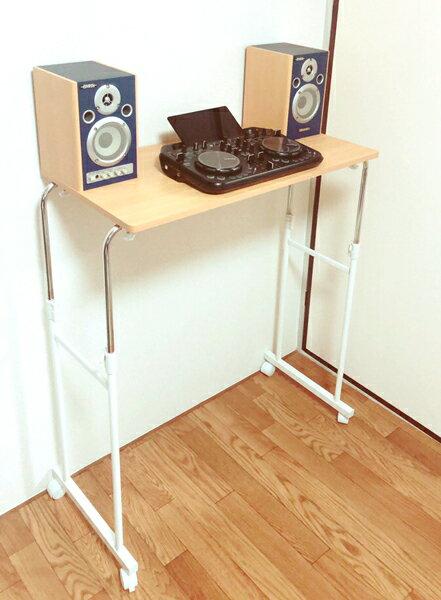 DJテーブル dj テーブル DJブース 送料無料 PCDJ CDJ 専用 設営しやすい …...:a-kag:10043352