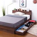 ベッド セミダブルベッド セミダブルサイズ セミダブル...