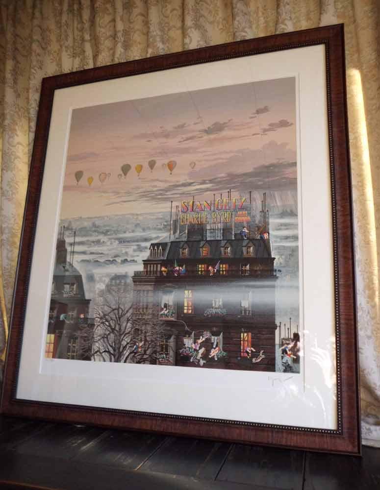 絵画 ヒロ、ヤマガタ/サンセットレイン 版画 シ...の商品画像