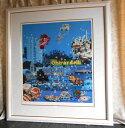 絵画 ヒロ、ヤマガタ 二人の星 版画 シルクスクリーン 全国送料無料 【smtb-k】【ky】
