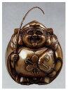 美術, 美術品, 古董, 民間工藝品 - 七福神 招福恵美須 小 和雑貨 開運 床の間 銅像 香炉 送料無料