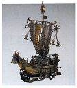 新宝船 床の間 開運 銅像 和雑貨 送料無料
