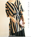 大人の一枚もの、緩く美しく。レディース ファッション ワンピース 半袖 ロング丈 ブラック フリーサイズ M L LL Mサイズ Lサイズ LLサ..