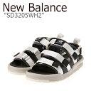 ショッピングbalance ニューバランス サンダル New Balance メンズ レディース SD 3205 WH2 WHITE ホワイト SD3205WH2 シューズ 【中古】未使用品