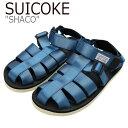 ショッピングフック スイコック サンダル SUICOKE メンズ SHACO シャコ BLUE ブルー S1404SN07BL シューズ