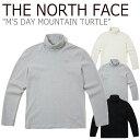 ショッピングウェア ノースフェイス ロンT THE NORTH FACE メンズ M'S DAY MOUNTAIN TURTLE デー マウンテン タートル BLACK ブラック GRAY グレー CREAM クリーム NT7XK50A/B/C ウェア 【中古】未使用品