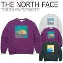 ショッピングface ノースフェイス トレーナー THE NORTH FACE メンズ レディース TONTO SWEATSHIRTS トント スウェットシャツ 全3色 NM5MK51J/K/L ウェア 【中古】未使用品
