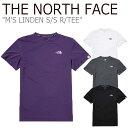 ショッピングスノー ノースフェイス Tシャツ THE NORTH FACE メンズ M'S LINDEN S/S R/TEE リンデン ショートスリーブ ラウンドTEE 全4色 NT7UL07K/L/M/N ウェア 【中古】未使用品