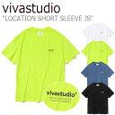 ビバスタジオ Tシャツ vivastudio メンズ レディース LOCATION SHORT SLEEVE JS ロケーション ショート スリーブ 全4色 JSVT02 ウェア