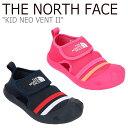 ノースフェイス スニーカー THE NORTH FACE キッズ KID NEO VENT II ネオベント2 NAVY ネイビー PINK ピンク NS96J06A/B シューズ 【中古】未使用品