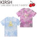 ショッピングケアベア キルシー Tシャツ KIRSH レディース CARE BEAR TIE-DYE T-SHIRTS ケアベア タイダイ Tシャツ 半袖 PINK ピンク LIGHT BLUE ライトブルー CJHKT03 ウェア