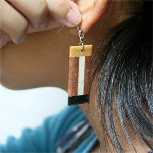 寄木細工ピアス木製アジアン雑貨販売 BCD SHOPの紹介画像3
