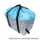 ショッピングエコバッグ 折り畳み保冷保温バッグ チラシ柄 すみっコぐらし ブルー 67699605【送料無料】