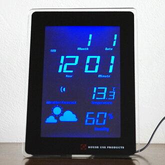 LED clock TIDE (AV-ACL06) (logging)   Watch   clocks   clocks   wooden clock
