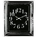 アンティークな雰囲気が落ち着きを感じさせるガラス掛け時計掛時計「BARQUE」