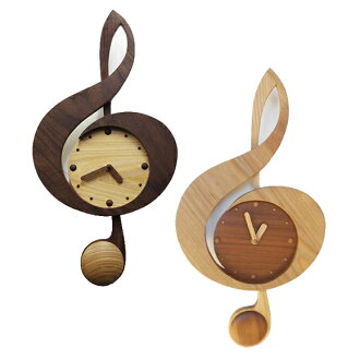Pendulum clock new clef Walnut (SU-TOON) * mid-October will be in stock (calibration) | Watch | pendulum clock | clock | pendulum clock