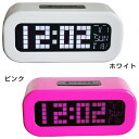 "[in an entry point up to 6 times!] Pastel LCD clock ""トノン"" (SJ-LCD002)( 検 )