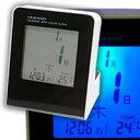 【エントリーで★最大ポイント10倍!】卓上カレンダー電波時計 (KC-TSB-413)(検) 時計 置き時計 置時計 木製時計