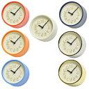 掛け 掛時計 時計 12cm ナチュラル 渡辺力 lemnos タカタレムノス モダン シンプル 掛置兼用 スタンド 見やすい 人気 リビング オフィス 医院 待合室 日本製 ギフト 小さい時計 (TL-WR07-15 )