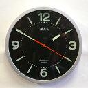 省エネ、電源無用の、夜でも見える夜光時計。夜でも見える 夜光掛け時計W312