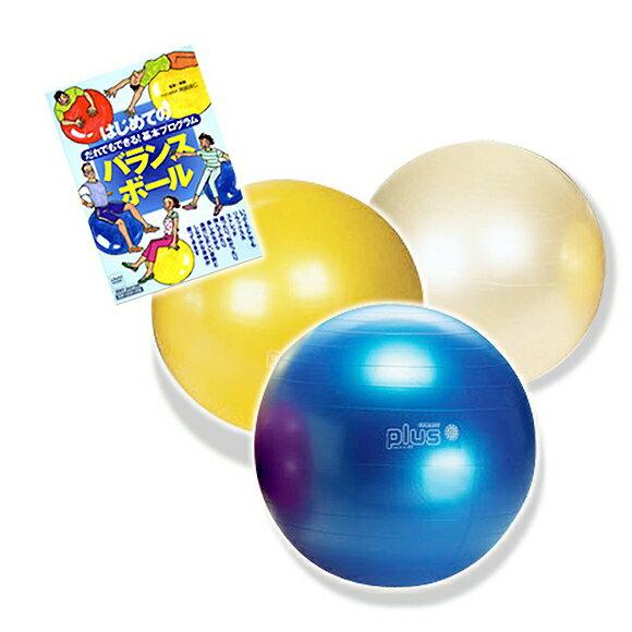 ギムニク バランスボール はじめてのバランスボールセット 65cm (GYh-set65) エクササイズ ヨガ ボール ピラティス 【10P05Nov16】【 送料無料 】