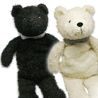 In the refreshing year! Hottie stuffed animals bear black and white Germany fashy masumoto, Ltd (SSbear) (logging) | hottie | fashy | masumoto | yutanpo 1213 mheat