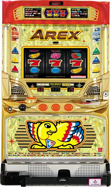 アクロス アレックス 『コイン不要機ゴールドセット』[パチスロ実機/スロット 実機][コイン不要機ゴールド(コイン/コインレス/オートモードプレイ)/家庭用電源/音量調整/ドアキー/設定キー/取扱い説明書付き][中古]