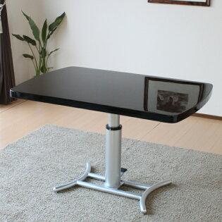 UV塗装無段階ガス圧昇降式リビングダイニングテーブル[リフティングテーブル]【smtb-k】【ky】