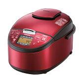 【送料無料】日立 RZ-SG10J-R レッド 極上炊き [圧力&スチームIHジャー炊飯器(5.5合炊き)]