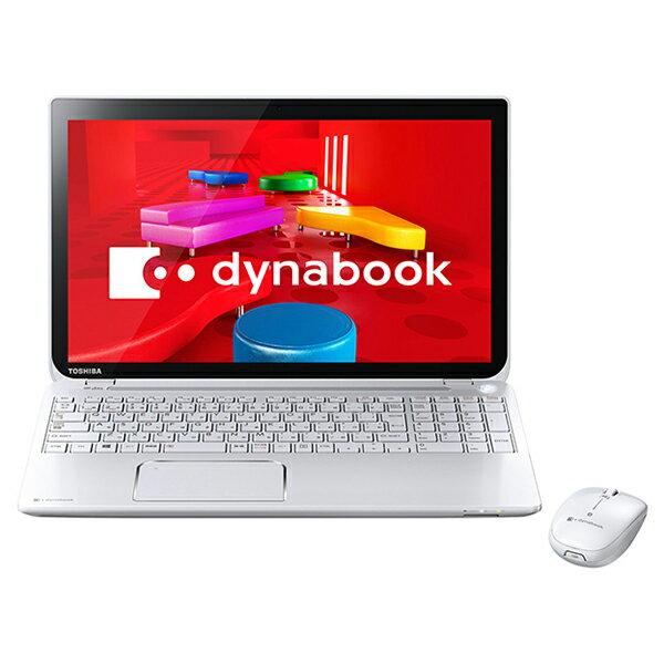 【送料無料】東芝 PT65346JBMW リュクスホワイト dynabook T653/46JW [ノートパソコン 15.6型ワイ...