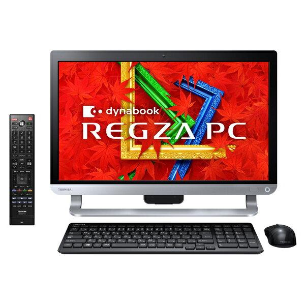 【送料無料】東芝PD713T3KSXB プレシャスブラック dynabook REGZA PC[デスクトップパソコン 21.5型...