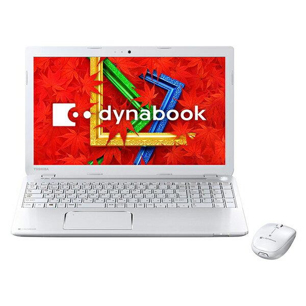 【送料無料】東芝 PT55445KSXW リュクスホワイト dynabook T554 [ノートパソコン 15.6型ワイド液晶...