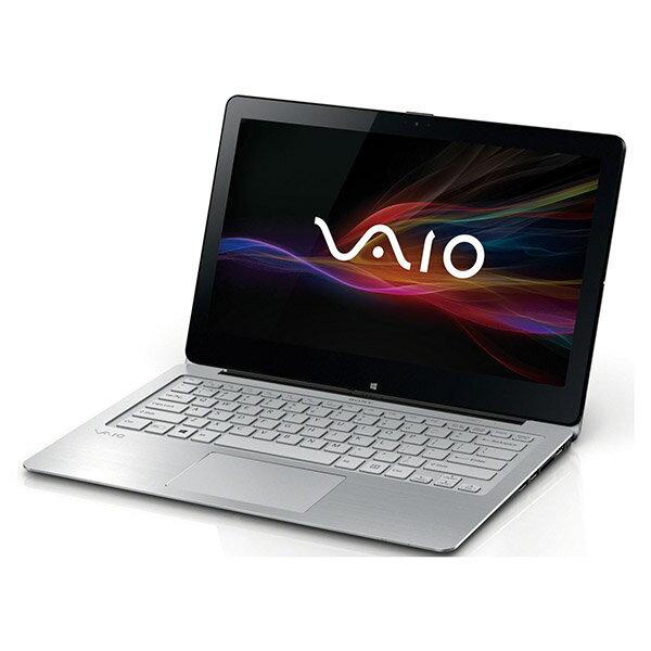 【送料無料】SONY SVF13N19DJS シルバー VAIO Fit 13A [ノートパソコン 13.3型ワイド液晶 SSD128GB...