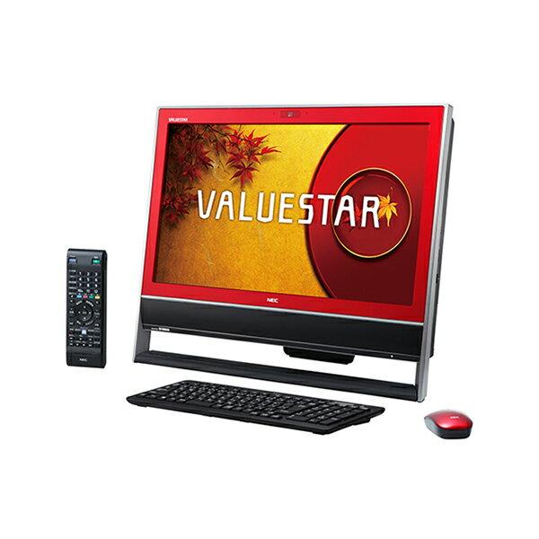【送料無料】NEC PC-VN370NSR クランベリーレッド VALUESTAR N VN370/NSR [デスクトップパソコン 1...