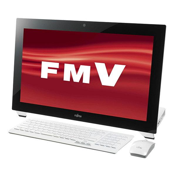 【送料無料】富士通 FMVW77MW スノーホワイト FMV ESPRIMO WHシリーズ [デスクトップパソコン 21.5...
