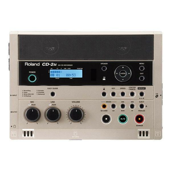 【送料無料】ROLAND CD-2U [SD/CDレコーダー]...:a-price:10182460